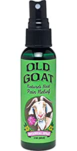 The Vermont Country Store Health & Beauty Old Goat Pain Relief Spray Spray