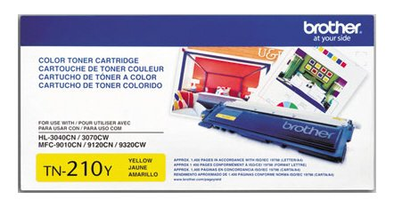 Sd Yld Yellow Ink (BROTHER BR HL-3040CN, 1-SD YLD YELLOW TONER TN210Y by BROTHER)