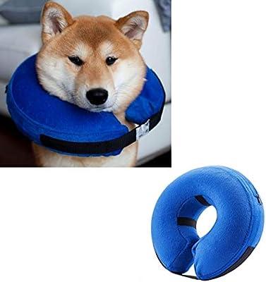 Emwel Collar Hinchable para Perros Grandes, cómodo Collar para ...