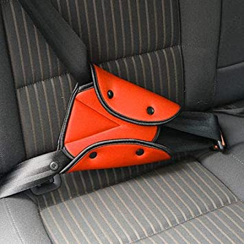 Triangle Adjuster Kids Car Auto Safe Device Baby Fit Seat Belt Safety Cover