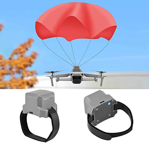 Bsopem Safety Drone Parachute for DJI Mavic Air 2, Drone Flight Umbrella with Dual-Sensor, Flight Safety Parachute Drone…