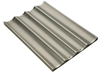 Focus Foodservice Commercial Bakeware Baguette/French Bread Pan Amco Food Service 904005 232-9954