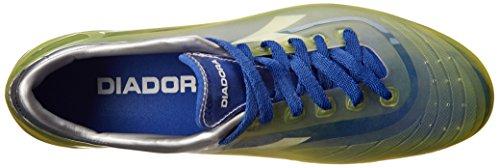 Diadora Voetbal Heren Cambio Md Pu Voetbalcleat Fluorescerend Geel / Royal