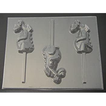 Amazon.com: Cute dragon bh002 oso cielo Chocolate Candy Mold ...