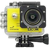 SJCAM SJ5000X Elite Action Cam Sports Camera Underwater Camcorder Waterproof Outdoor Camera Ultra-HD 2.0 Inch LTPS WiFi 4K 24fps 2K30fps Gyro Sports DV 2.0 LCD NTK96660 Diving 30 Meter White