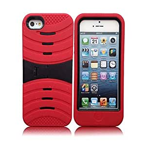 Stripe Hard Case for iPhone 5 (Assorted Colors) --- COLOR:Gray
