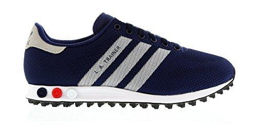 new style b13ca b8d4a adidas LA Trainer Weave - Zapatillas para hombre Azul Dark Blue White   Amazon.es  Zapatos y complementos