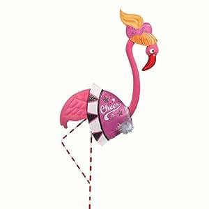 Silvestri® Glamingo Flamingo Cheerleader disfraz para estatuas de jardín