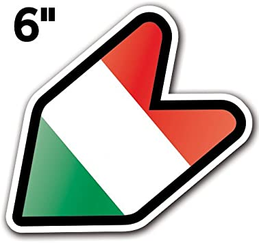 6 ORIGINAL - 3 PACK ORIGINAL - Adelia Co JDM Wakaba Shoshinsha Mark New Driver Badge Leaf Sign Car Bumper Stickers Decals