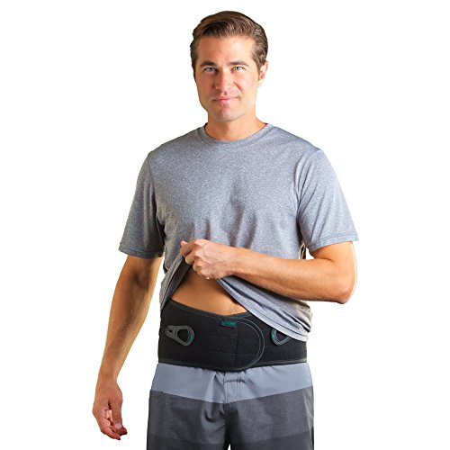Aspen Lumbar Support Back Brace for Lower Back Pain Relief. Lumbar Support Belt Provides Slimming, Comfortable Fit for Active Lifestyles, Thinnest INELASTIC Brace You Can Buy! (XX-Large)