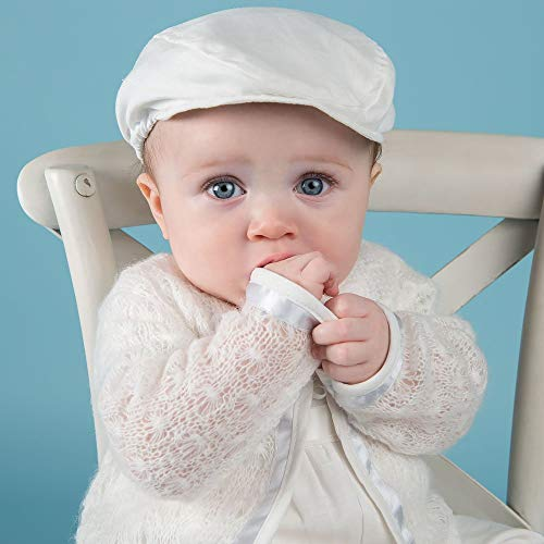 853416739 Owen Baby Boy Ivory Knit Christening and Baptism Sweater available ...
