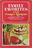 Family Favorites from Country Kitchens, Elise W. Manning, 038505095X