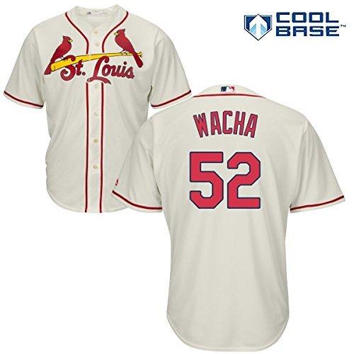 Michael Wacha St. Louis Cardinals #52 MLB Youth Cool Base Alternate Jersey Ivory (Youth XLarge 18/20)