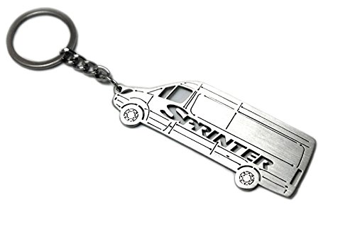 Keychain With Ring For Mercedes Sprinter II Steel Key Pendant Chain Automobile Gift Car Design Accessories Laser Cut Home - Australia Usps Tracking