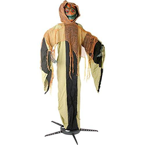 Halloween Standing Scary Pumpkin Head Costume Prop