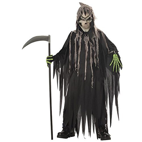 Totally Ghoul Mr. Grim Costume, Size: Boys Large, Ages -
