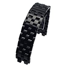 MOTONG Pebble Steel 2 Replacement Band - MOTONG Stainless Steel Metal Watch band For Pebble Steel 2