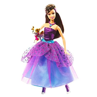 Barbie Fashion Fairytale Marie Alecia Doll: Toys & Games