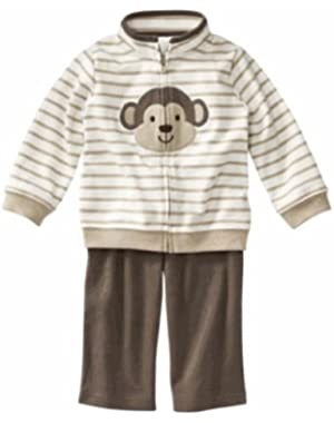 JUST ONE YOU by Carters Boys 3 Piece Cardigan Set - Brown