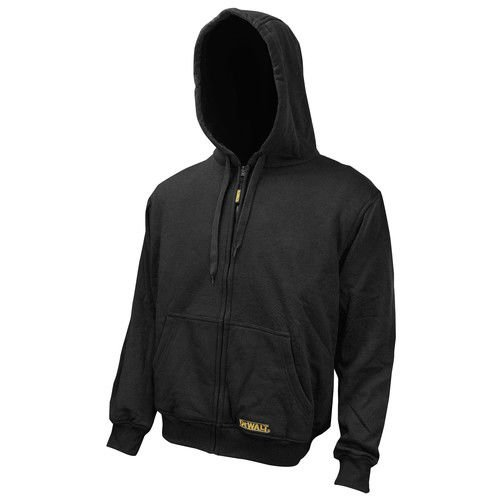 DEWALT DCHJ067B-XL 20V/12V MAX Bare Hooded Heated Jacket, Black, X-Large by DEWALT