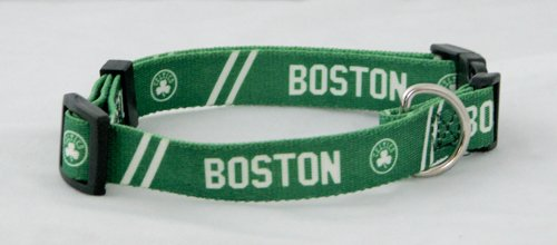 NBA Boston Celtics Adjustable Pet Collar, X-Small, Team Color