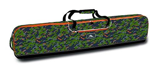 High Sierra Padded Snowboard Bag, Electric (Snowboard Bag Camo)