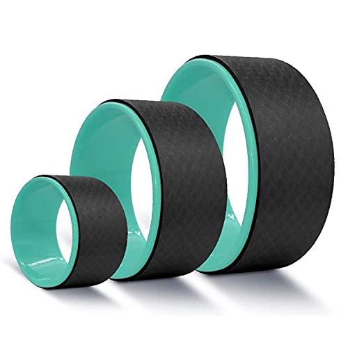 KOLESIN Yoga Wheel Set, 3 Pack ABS Yoga Wheel Roller for Back Pain Strongest & Comfortable Yoga Wheel, Yoga Wheel for…
