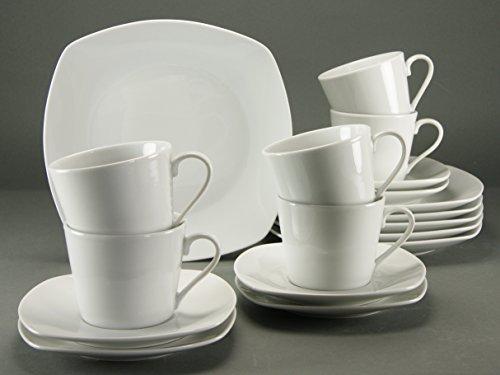Creatable 19510 Serie Amelie, Kaffeeservice 18-teilig