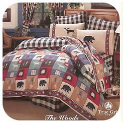The Woods Bedskirt (Moose Kimlor)