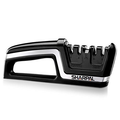 SHARPAL 104N Professional 5-in-1 Knife & Scissors Sharpener