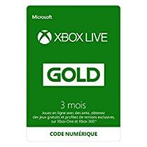 Seulement 16,99 € - Abonnement Xbox Live Gold 3 mois [Code Digital - Xbox Live]
