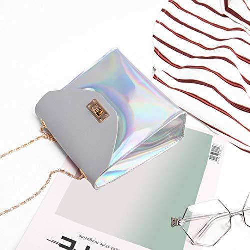 Phone Bafaretk Fashion Coin GREY Bag Bag Messenger Crossbody Small Laser Shoulder Bag Womens Bag vvqURndr
