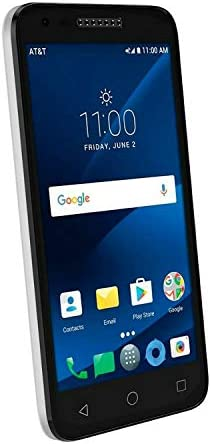 Alcatel - CAMEOX 4G LTE with 16GB Memory Cell Phone - Arctic White (AT&T) WeeklyReviewer