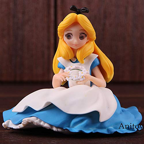 9cm (3.5 inch) Crystalux Alice in Wonderland Figure Action / PVC Figure with Retail Box