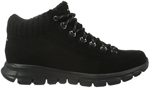 Mujer winter Botas Synergy Negro Para bbk Skechers Nights w7OXgRWwq