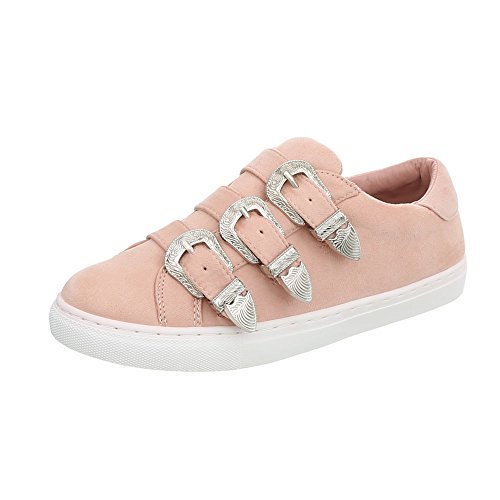 2306 Plat Chaussures Low Ital Sneakers Altrosa Espadrilles Mode Design Femme Baskets 4wv5q