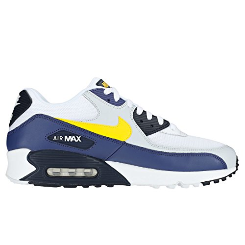 Generic uomo Tour Canottiera Rainbow Yellow Giallo Nike Recall blue White Blu Bianco da qwTOnId