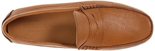 Sebago Mens Tirso Penny Loafer Tan Leather
