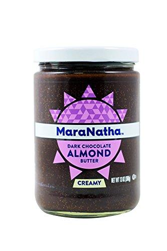 Maranatha Roasted Almond Butter - Maranatha Dark Chocolate Almond Spread, 13oz (3 Pack)