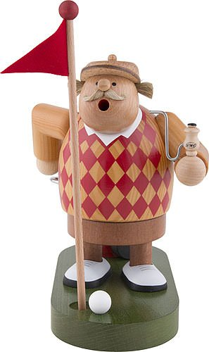 KWO Golfer Argoyle German Smoker SMK215X93 by KWO