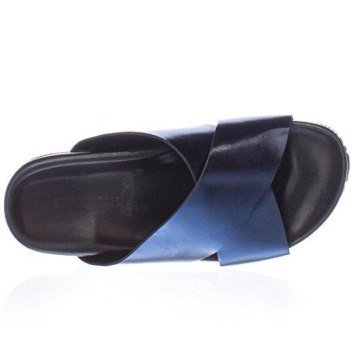 Emozioni Tverr Stropp Glide Sandaler - Elektrisk Blå