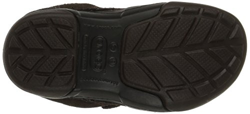 Crocs Dawson Fácil-en el zapato Espresso/Black