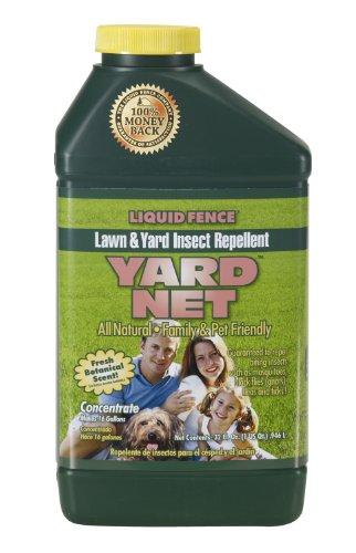 Liquid Fence Yard Net Pest Repellent, 1-Quart Concentrate