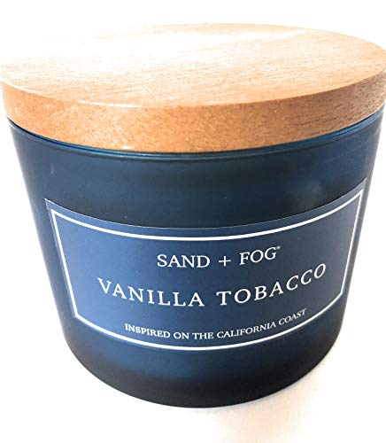 Sand And Fog Vanilla Tobacco Double Wick Candle 12 Oz -