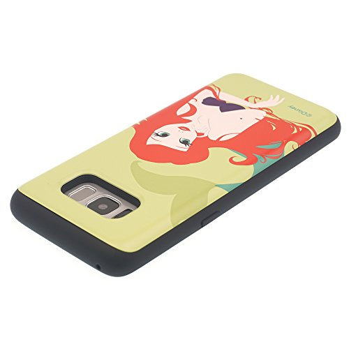Funda Galaxy S8 Plus [Protección híbrida contra caídas] DISNEY Minnie Mouse Linda Doble Capa Hybrid Carcasas [TPU + PC] Parachoques Cubierta para [ Samsung Galaxy S8 Plus ] - Minnie Mouse Idea The Little Mermaid Ariel Lime (Galaxy S8 Plus)