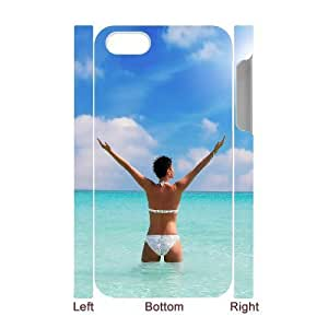 3D Bumper Plastic Case Of Bikini customized case For Iphone 4/4s