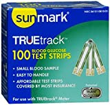 Sunmark TrueTrack Blood Glucose Test Strips - 50 ct, Pack of 5