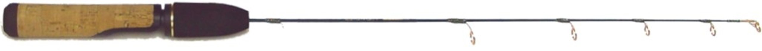 HT PLC-25M Polar Light Medium Walleye Ice Rod, 24-Inch by HT