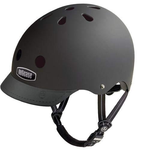 patterned street bike helmet
