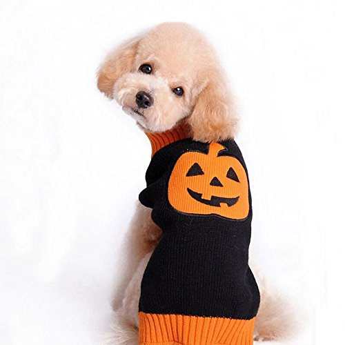 Clearance Sale! Pet Sweater Cinsanong Festival Comfortable Knitwear Dress for Dog Halloween Fashion Puppy Clothes